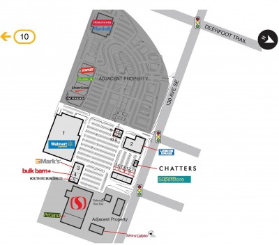 SmartCentres Calgary Southeast plan
