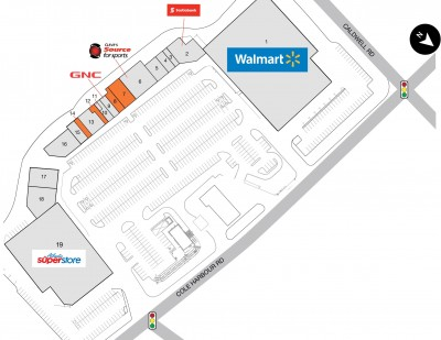 Smartcentres Dartmouth (Colby Village Shopping Centre) plan