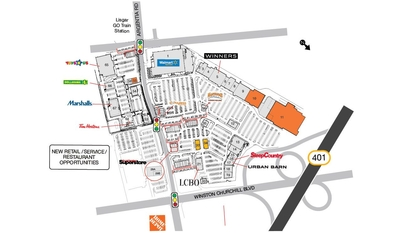 SmartCentres Mississauga (Meadowvale) plan