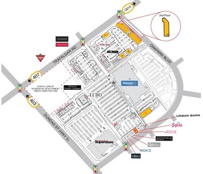 SmartCentres Oakville plan