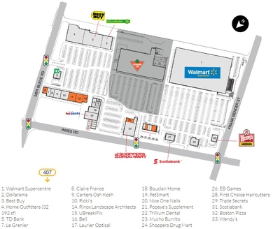 SmartCentres Orleans plan