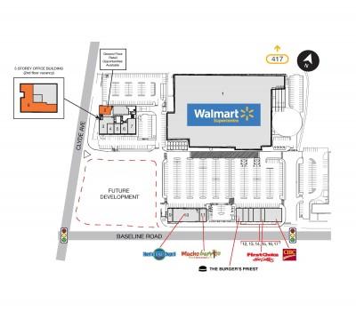 SmartCentres Ottawa Southwest plan