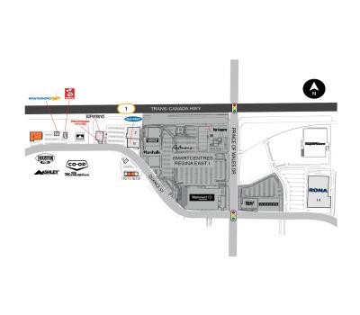 SmartCentres Regina E II plan