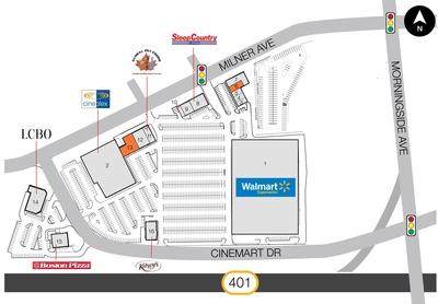 SmartCentres Scarborough East plan