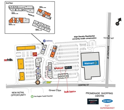 SmartCentres Thornhill plan