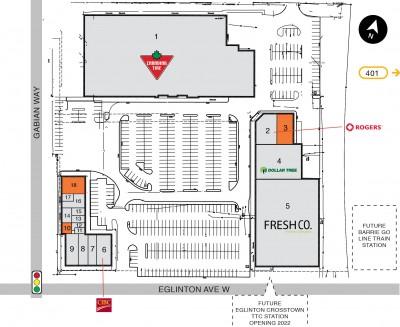 Smartcentres Toronto (Westside Mall) plan