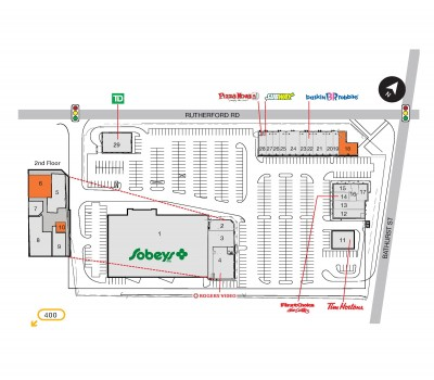 SmartCentres Vaughan (Rutherford Village) plan