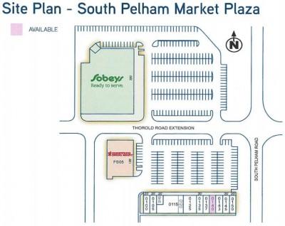 South Pelham Market Plaza plan