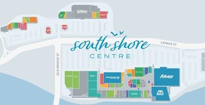 South Shore Centre plan