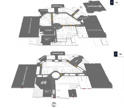 Southcentre Mall plan