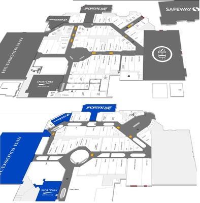 Southcentre Mall plan