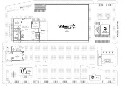 Southdale Shopping Centre plan