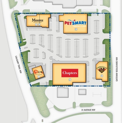 Southpoint Shopping Centre plan