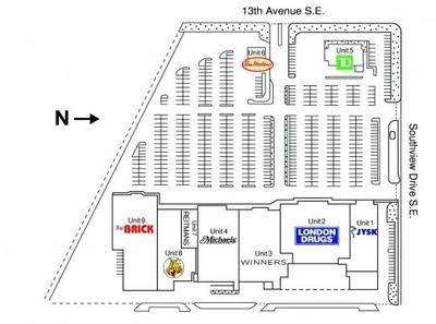Southview centre plan