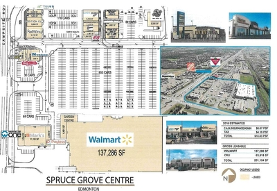 Spruce Grove Centre plan