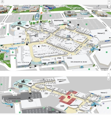 Square One Shopping Centre plan
