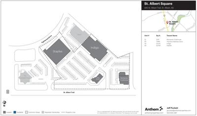 St. Albert Square plan