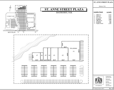 St Anne Street Plaza plan