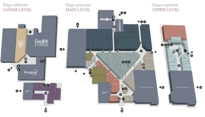 St. Laurent Shopping Centre plan