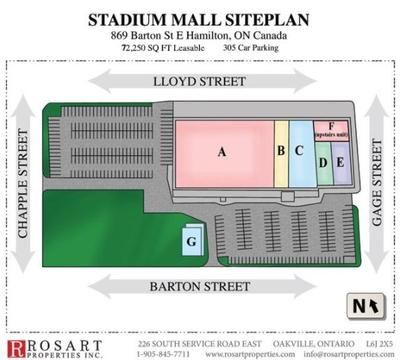 Stadium Mall plan