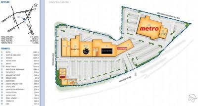 Stafford Centre plan