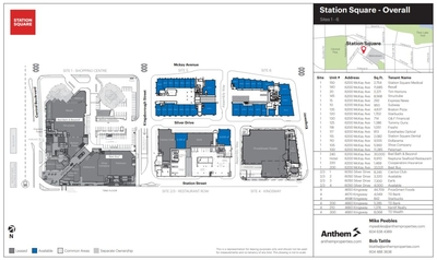Station Square plan