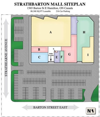 Strathbarton Mall plan