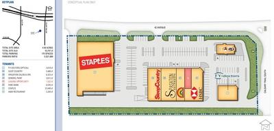 Summer Breeze Shopping Centre plan