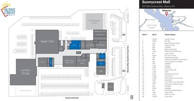Sunnycrest Mall plan