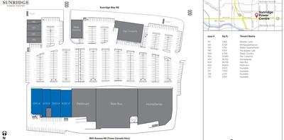 Sunridge Power Centre plan