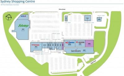 Sydney Shopping Centre plan
