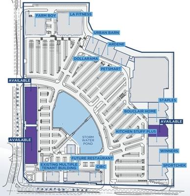 Taunton Gardens Power Centre plan
