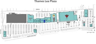 Thames Lea Plaza plan