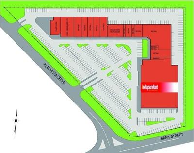 The Alta Vista Shopping Plaza plan