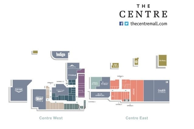 The Centre Mall plan