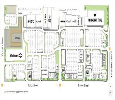 The Centre on Barton plan