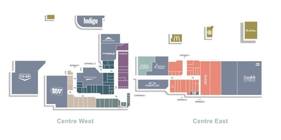 The Circle Centre Mall plan