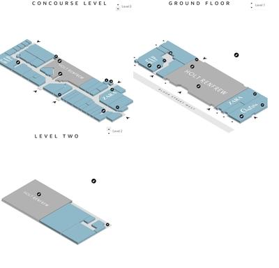 The Holt Renfrew Centre plan