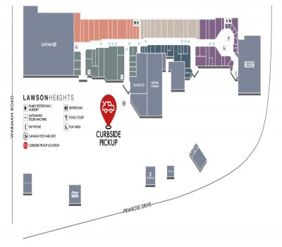 The Mall at Lawson Heights (Lawson Heights Mall) plan