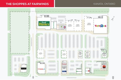 The Shoppes at Fairwinds plan