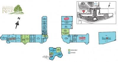 The Shops at Pickering Ridge plan