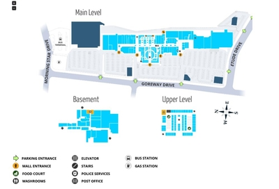 The Shops at Westwood Square plan