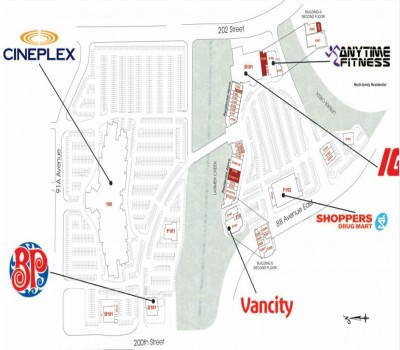 The Village at Thunderbird Centre plan