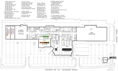 Timmins Square plan