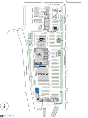 Towerlane Centre plan