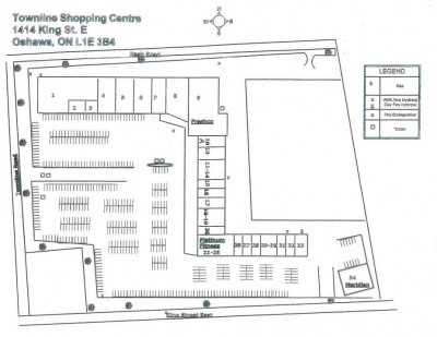 Townline Centre plan