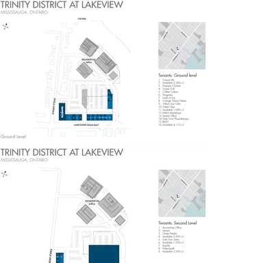 Trinity District at Lakeview plan