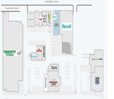 Tuscany Village Shopping Centre plan