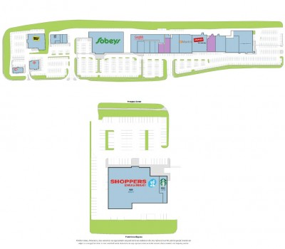 Uptown Centre (NB) plan