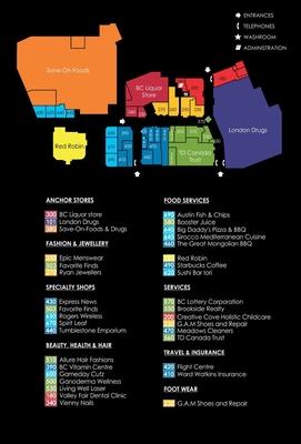 ValleyFair Mall plan